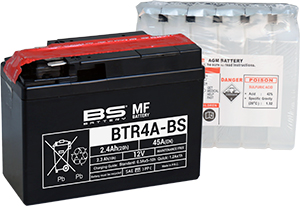 Akumulátor BTR4A-BS (YTR4A-BS) BS BATTERY MF