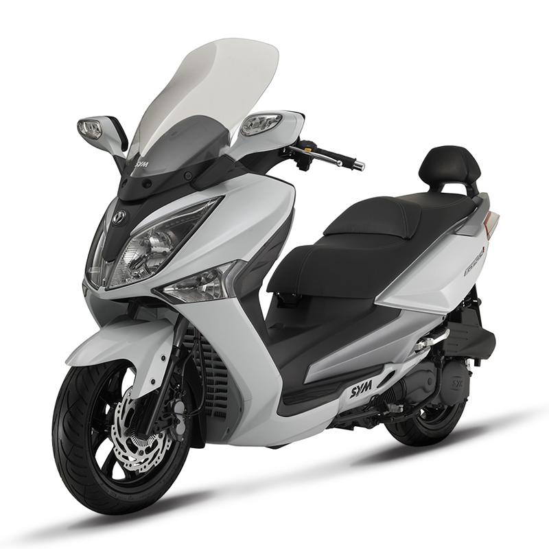 SYM JOYMAX NEW 300i ABS + START / STOP E3 biely