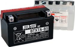 Akumulátor  BTX7A-BS (YTX7A-BS)  BS-BATTERY MF