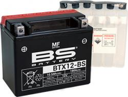 Akumulátor BTX12-BS  (YTX12-BS) BS-BATTERY MF