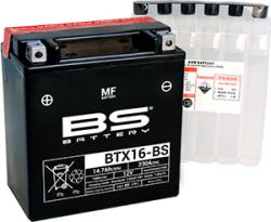 Akumulátor BTX16-BS (YTX16-BS) BS BATTERY  MF