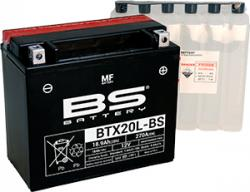 Akumulátor BTX20L-BS (YTX20L-BS) BS-BATTERY MF