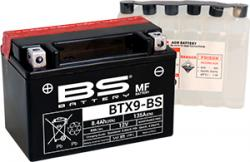 Akumulátor BTX9-BS (YTX9-BS) BS-BATTERY MF