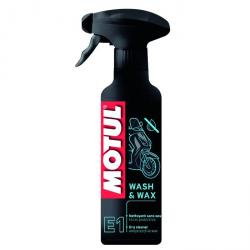 MOTUL  E1 WASH A WAX 400ml