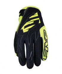 Motocrosové rukavice MXF3 Black/fluo yellow